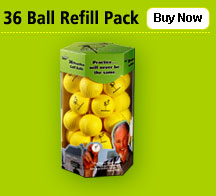 Point 3 Practice Balls - 36 Ball Pack